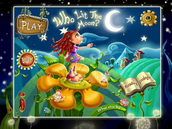 Who lit the moon, kids apps, educational apps for kids free