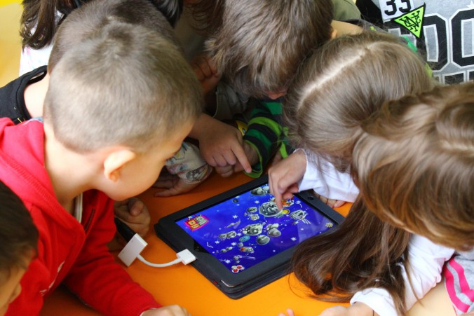 technology, kindergarten, children, education